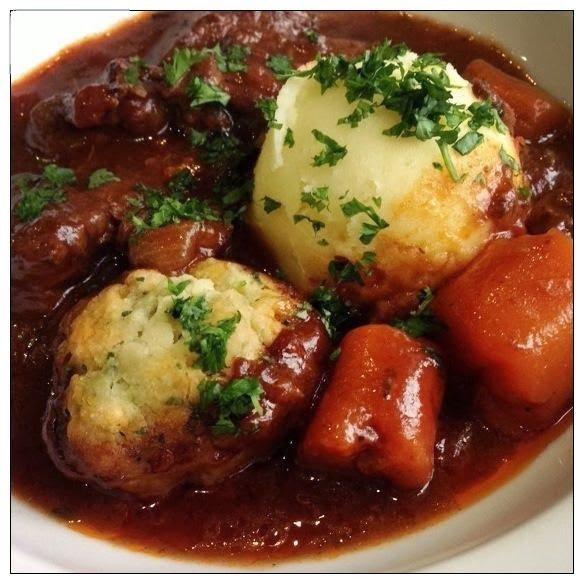CJ's Onion Dip Mix in Beef Stew