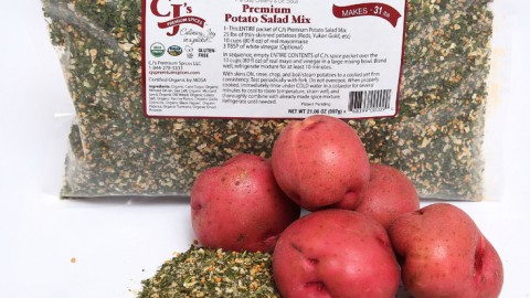 CJ's Premium Potato Salad Mix- Foodservice Industry