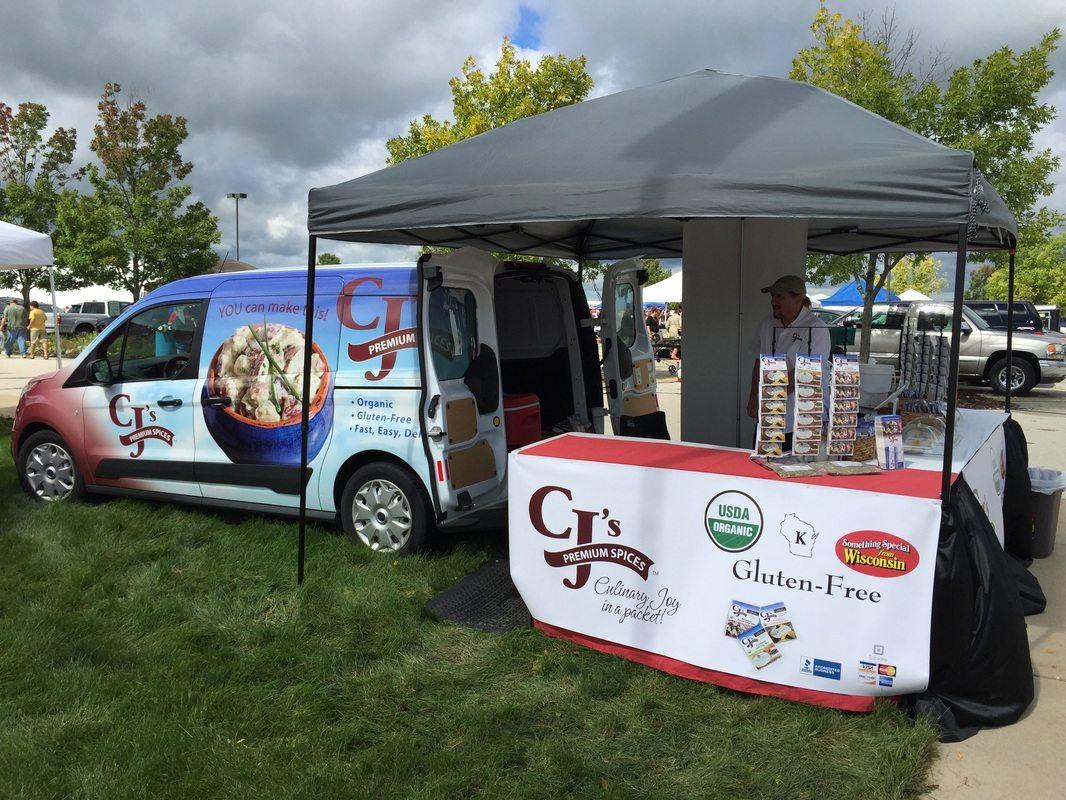 CJ's Van Outside Event