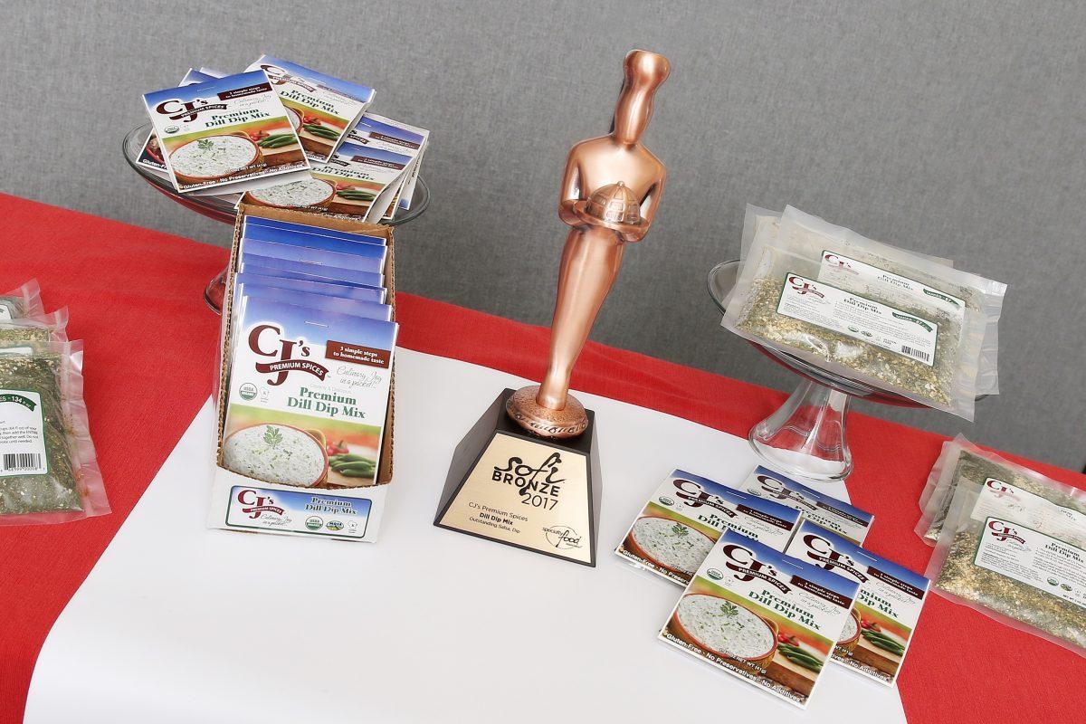 sofi™ award winner 2017, dill dip, dill dip mix, sofi award winner, organic, kosher, gluten free